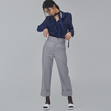 [SALON DE SEOUL] Woman Gurkha Pants - Grey