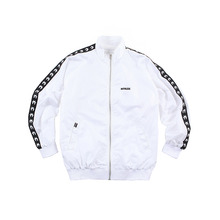 [RUTHLESS] Nylon Track Top - White