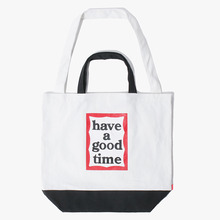 [Have a good time] 2 Way Tote Bag - Black