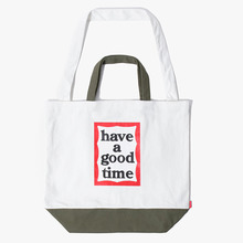 [Have a good time] 2 Way Tote Bag - Olive