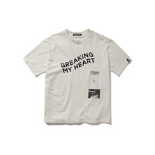 [ANTIMATTER]BREAKING T-SHIRTS_White