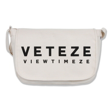 [30%sale][VETEZE] Big Logo Messenger Bag - IV