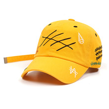 [STIGMA]GRAFF BASEBALL CAP - YELLOW
