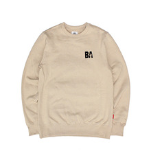 [단독30%할인] [Buried Alive] Ba Og Logo Crewneck_Cream
