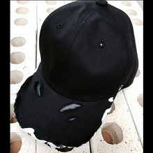 [Divine925][디바인925] Divine925 BlackLabel - Damage ballcap (White)