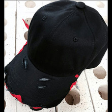 [Divine925][디바인925] Divine925 BlackLabel - Damage ballcap (Red)