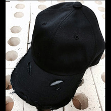 [Divine925][디바인925] Divine925 BlackLabel - Damage ballcap (Black)