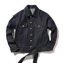 [ANTIMATTER]Cutting Denim Jacket(Non Print) - Indigo