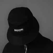 [BLAKOON] logo bucket hat - Black