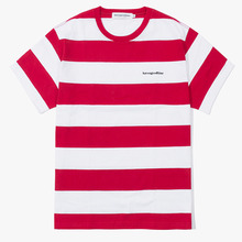 [Have a good time] Stripe SS Tee - Red