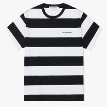 [Have a good time] Stripe SS Tee - Black
