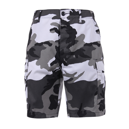 [Rothco] Colored Camo BDU Shorts - City Camo