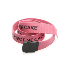 [A PIECE OF CAKE] 2 Way Cotton Belt_Pink