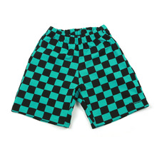 [A PIECE OF CAKE] GG Trailer Checkerboard 1/2 Pants_Mint