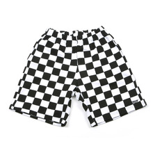 [A PIECE OF CAKE] GG Trailer Checkerboard 1/2 Pants_White