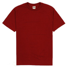 (1301)Adult Short Sleeve Tee - Burgundy
