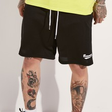 [BASEMOMENT] MESH TRAINING SHORT - BLACK