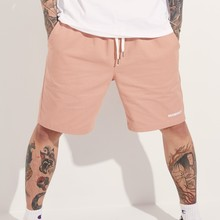 [BASEMOMENT] BANDING CHINO SHORT - PINK