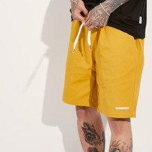 [BASEMOMENT] BANDING CHINO SHORT - MUSTARD