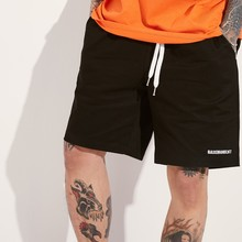 [BASEMOMENT] BANDING CHINO SHORT - BLACK