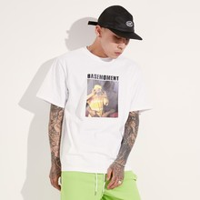 [BASEMOMENT] BABY GANG PRINTING T-SHIRT WHITE