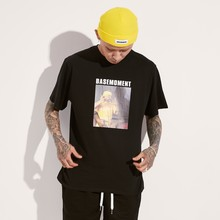 [BASEMOMENT] BABY GANG PRINTING T-SHIRT - BLACK