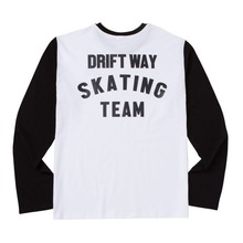 [ATAR]SKATING TEAM SLEEVE-T BLACK