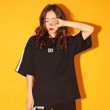 [AROUND80][20%할인][5/29 예약배송] AROUND80 SNAKE ROSE T-SHIRTS_BLACK