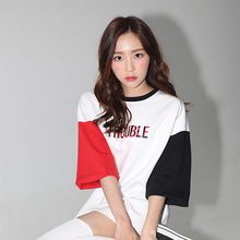 [AROUND80][20%할인][5/29 예약배송] RED BLACK SLEEVES T-SHIRTS