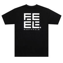 [Nasty Palm x Feel Enuff] F x N Logo T-Shirts - Black