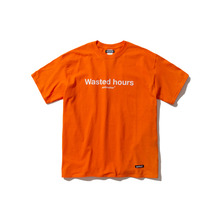 [ANTIMATTER]WASTED HOURS T-SHIRT_ORANGE