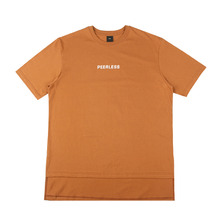 [10%할인][EINEN]Peerless Doubleside 1/2 T-Shirts Brown