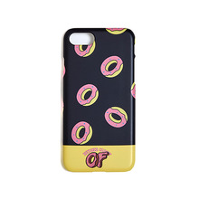 [beyondcloset] [ODD FUTURE EDITION] PATTERN LOGO IPHONE7 CASE BLACK