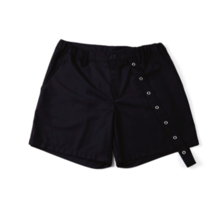 [20%할인] [NEVERCOMMON] EYELET SHORT PANTS (Black)