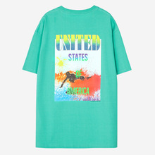 [Anderssonbell]UNISEX PACIFIC SURFER T-SHIRT - Mint