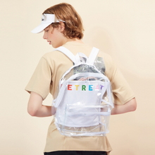 [LUVISTRUE](UNISEX)RE BACKPACK_WH