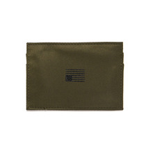 [BLACK SCALE] NYLON CARD WALLET (OLIVE)