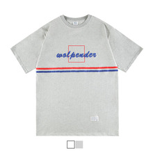 [45%sale] [WOLPENDER] (Unisex) Tape Colored Short sleeves T-Shirt
