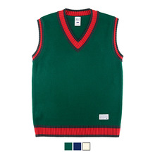 [78%sale] [WOLPENDER] (Unisex)HighSchool Colored Vest