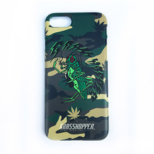 [GRASSHOPPER] Drink I Phone Case -Camo