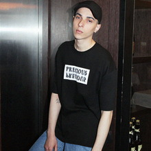 [ONA] PRECIOUS OVER FIT T-SHIRTS BLACK