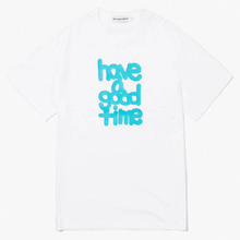 [Have a good time] Fat Logo S/S Tee - White