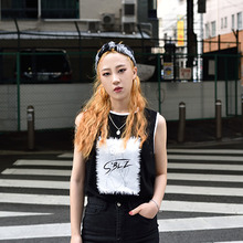 [S'BLZ] Lady sleeveless - Black