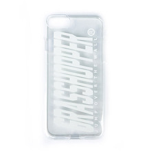[GRASSHOPPER] Fs Logo I Phone Case -Clear White