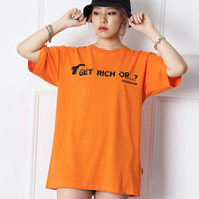 [10%할인][OHVERDOSE]Image Short Sleeve ST 02 - Orange