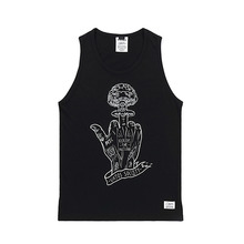 [STIGMA]NUCLEAR SLEEVELESS - BLACK