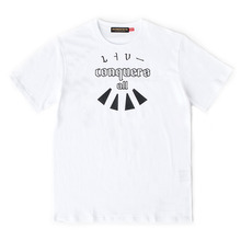 [MOMENTBYM] Conquer t-shirts, White