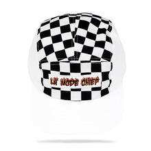 [30%할인][LAMODECHIEF] LA.C-FLAME CAMP CAP - white check
