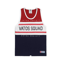[STIGMA]RUGBY SLEEVELESS - RED