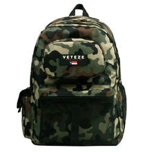 [49%SALE][VETEZE] Retro Camo Backpack - ORIGINAL